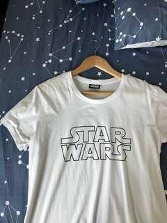 White Starwars T Shirt