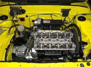 Engine bay siap wiring kemas