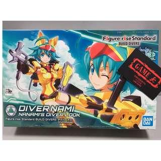 Bandai Figure-rise Standard BUILD DIVERS Diver Nami 高達創戰 創鬥者 潛行者 七瀨奈 奈美 gundam 模型 (行貨)