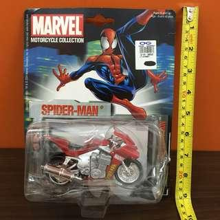 Maisto Marvel Motorcycle Collection: Spider-man Series 3 Blurred Vision [L1]