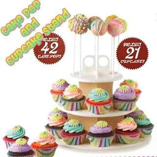 CCS002 3-tier Cake pop and Cupcake Stand