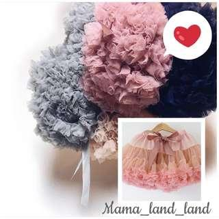 <Party skirt🎉🎉> Lovely princess party lace Cupcake baby & kid girl skirt