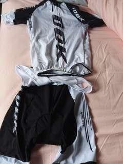 LOOK cycling jersey full set with bib