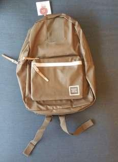 Herschel Settlement Backpack-Green Polycoat
