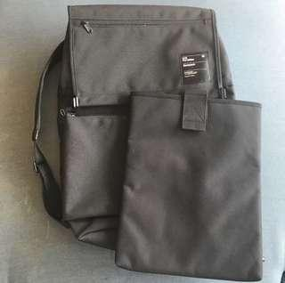 Units portable unit 18 black backpack