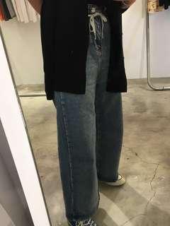 🚚 降!牛仔寬褲