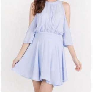 Hvv cold shoulder dress