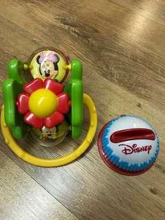 Lightly Used Mickey Mouse Spinning Toy