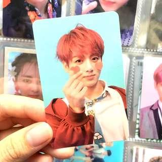 wts bts love yourself answer jungkook F version photocard