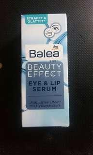 🚚 德國 Balea Beauty effect eye & lip seeum 眼唇玻尿酸保濕