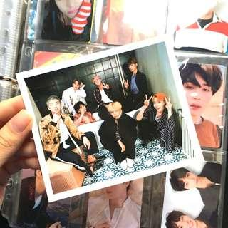 wts bts wings group photocard