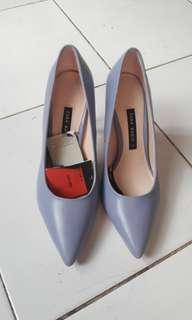 Zara Blue High Heels