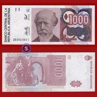 1985-91 Argentina 1000 Australes UNC