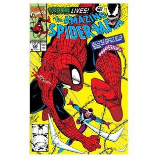 The Amazing Spider-Man #345 Cletus Kasady and symbiote bond
