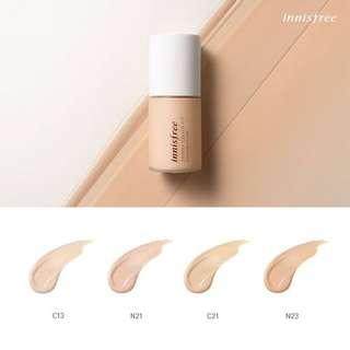 Innisfree Skinny cover fit foundation