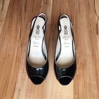 Zang Toi Black Heels