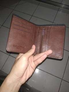 Dompet kulit coklat brunbrun