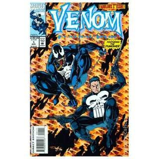 Venom Funeral Pyre #1 ( Featuring The Punisher)