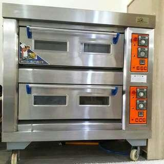 2 layer gas oven
