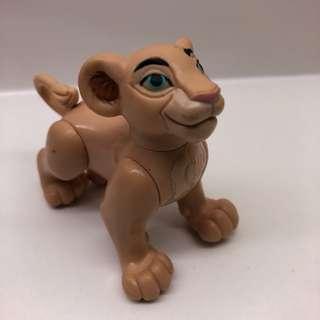 迪士尼 獅子王 琪拉雅 麥當勞玩具