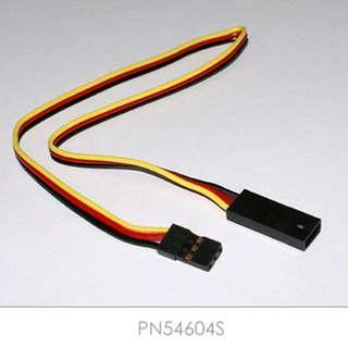 "🚚 HITEC 12"" Servo Extension (Gold Pin Connector), Hitec/ JR | Cable | Wire. Code: PN54604S"