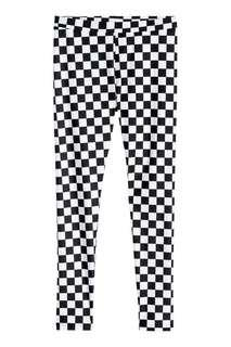 H&M Checkered Black & White Leggings