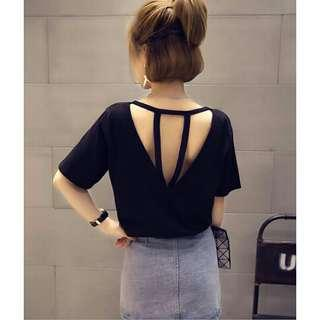 *FREE DELIVERY to WM only / Ready stock* Ladies sexy back top free size each as design / color. Free delivery is applied for this item.