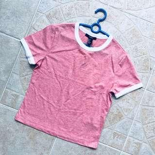 Forever 21 classic ringed t-shirt