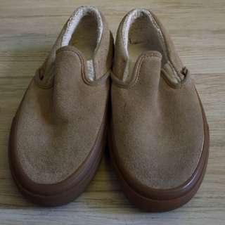 vans slip on feet warm (wool inside)