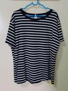 PLUS SIZE Striped Top