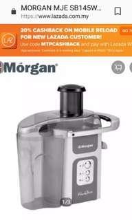 MORGAN MJE SB145W Juice Extractor 2.5Liter