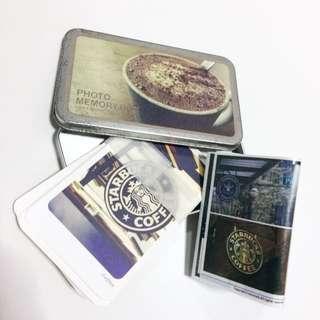 Starbucks Cards And Stickers Korean Scrapbook materials