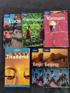 Lonely Planet Travel Guides - Thailand, Beijing