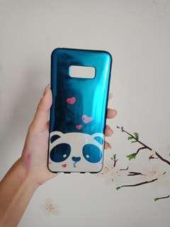 Case cute panda bluray samsung S8+