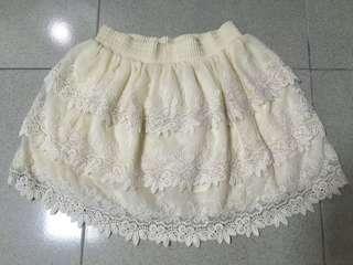 🚚 蕾絲蛋糕裙