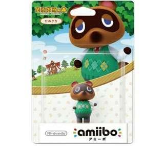 Nintendo Amiibo Tom Nook Animal Crossing Series Figure MISB