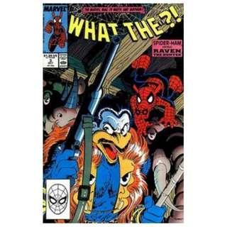 What The ?!  #3 ( Spider-Ham Vs Raven The Hunter)