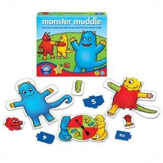 Orchard Toys Monster Muddle - Number & Colour Recognition Game