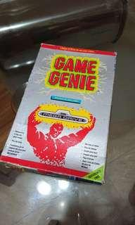 Game Genie for Sega Mega Drive / Genesis (in original box). Only 30 sgd for fast deal