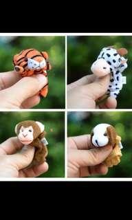 Chinese zodiak Finger puppet / boneka jari