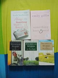 PRE LOVED BOOKS FOR SALE