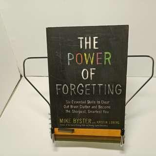 The Power of Forgetting Mike Byster with Kristin Loberg book