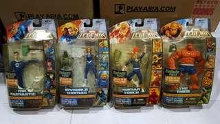 MARVEL LEGENDS RONAN SERIES : MR.FANTASTIC / INVISIBLE WOMAN / HUMAN TORCH / THING dc neca spawn shf