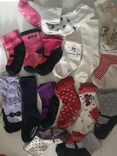 Baby socks 1-2yrs 19pairs