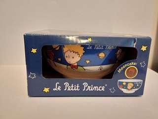 OK便利店 小王子Le Petit Prince 陶瓷碗連月餅