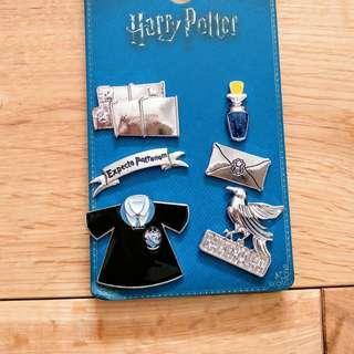 Harry Potter Ravenclaw Pins Set of 6