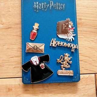 Harry Potter Gryffindor Pins Set of 6