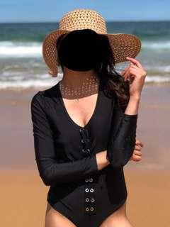 One piece swimsuit (Black)