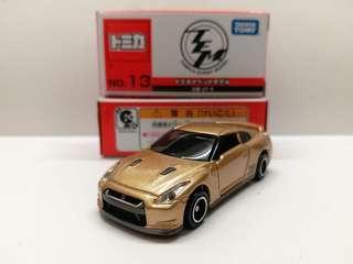 TOMY TOMICA EVENT MODEL TEM No. 13 日產 金色 GTR NISSAN GT-R golden