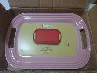 Le Creuset milky pink 31cm serving platter